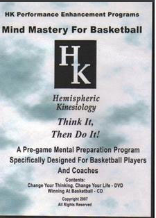 DVD & CD: Mind Mastery for Basketball