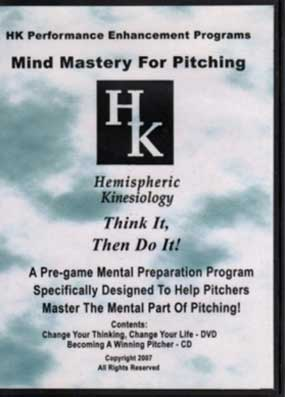 DVD Mind Mastery for Pitching